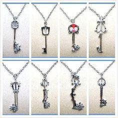 Kingdom hearts jewelry
