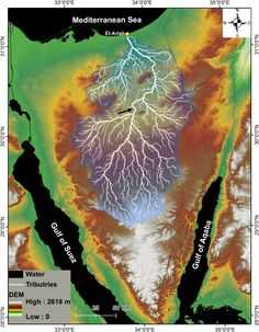 Topographic map of Greenland from bedrock elevation data. | Maps ...