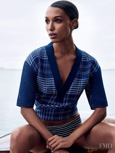 Beyond The Sea in Elle UK with Jasmine Tookes - Fashion Editorial | Magazines | The FMD #lovefmd