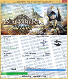 Our Summoners War Hack has been fully tested by our programmers with the newest Summoners War version!  Hack Features:  How to Use Summoners War Hack Cheats Online 2017 Tool New Summoners War Hack Cheats download undetected. This is the best version of Summoners War Hack Cheats, voted as best working tool.