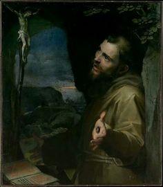 Frederico Barocci, St. Francis ca. 1600-1604