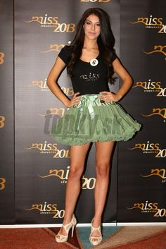 MISS Slovakia 2013 wearing DOLLY skirt princess Ariela. Great!! Ariel, Princess, Skirts, How To Wear, Skirt, Gowns, Skirt Outfits, Petticoats