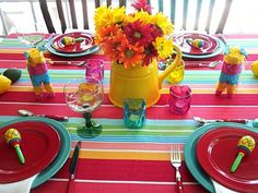 Colorful Tablescape Ideas for Cinco de Mayo | Home Seasons - Holiday Decorations & Seasonal Decor