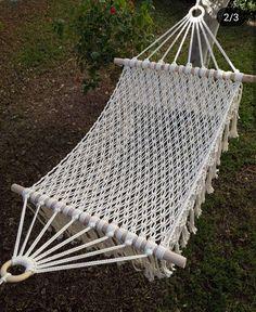 Macrame Design, Macrame Art, Macrame Projects, Macrame Knots, Macrame Hanging Chair, Macrame Wall Hanger, Macrame Chairs, Crochet Hammock, Diy Hammock