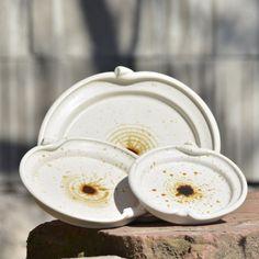 Sada 3 talířků Jablíčko - Vůně kávy