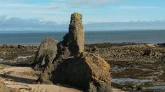The Rock 'n' Spindle, Fife Coastal Path, St Andrews, Scotland