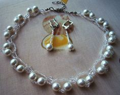 Free pattern for necklace Frost | Beads Magic - 1