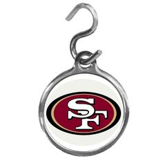 NFL San Francisco 49ers Pet ID Tag *** Trust me, this is great! Click the image. : Dogs ID tags and collar accessories
