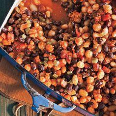Smoky Three-Bean Bake | CookingLight.com