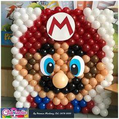 Balloon Dance, Balloon Backdrop, Balloon Wall, Balloon Decorations, Super Mario, Birthday Balloons, Party Planning, Crib, Party Themes