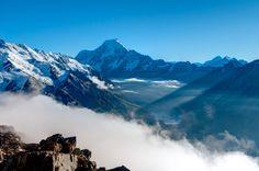 Mt Cook in Aoraki/Mt Cook National Park, New Zealand