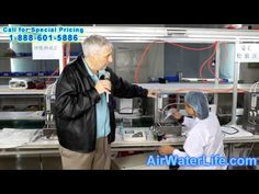 ▶ Air Water Life The Water Ionizer Factory of the Aqua Ionizer Deluxe 7.0 - YouTube