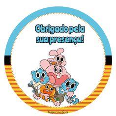 O Incrível Mundo de Gumball – Kit Festa Grátis – Inspire sua Festa ®