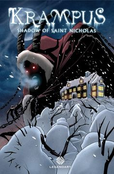 Krampus Is Coming To Your Comic Shops Today