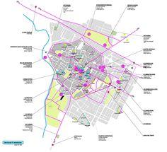Since 1998 the Web Atlas of Contemporary Architecture Architecture Site Plan, Architecture Graphics, Landscape Architecture, Urban Analysis, Site Analysis, Project Presentation, Presentation Design, Map Diagram, Urban Design Diagram