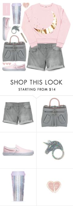 """""""Sweatshirt and shorts"""" by deepwinter ❤ liked on Polyvore featuring Gap, Moschino, Vans, Miss Selfridge and ban.do"""
