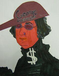 Middle School Art Blog. Funny Sub Lesson Plan: Hip Hop Presidents