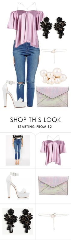 """""""Sans titre #5096"""" by kina-ashley ❤ liked on Polyvore featuring ASOS, Boohoo, Forever New, Rebecca Minkoff, Ann Taylor and Lanvin"""