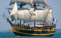 Bateau le Grand Turk alias l'Etoile du Roy - Armada Rouen 2013