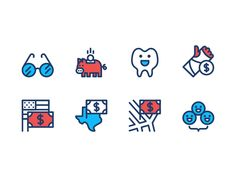 Expanding on an icon set I created for a client earlier in the year, but these icons are to be used in a marketing video rather than the UI like the last round were. Super excited to see the final ...