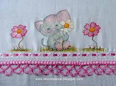 Image result for graficos de bicos de croche para fraldas de bebe