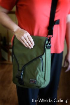 Good laptop travel bag: Tom Bihn bag