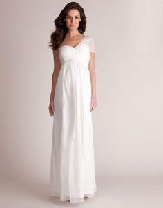 Divinos vestidos de novias   Moda y Tendencia para embarazadas