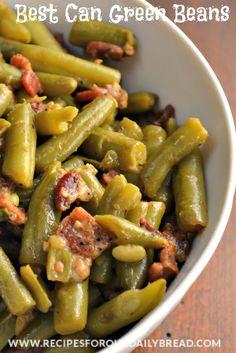 Best Can Green Beans  http://recipesforourdailybread.com/2013/04/25/best-canned-green-beans/