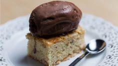 Brownies au chocolat blanc et aux amandes