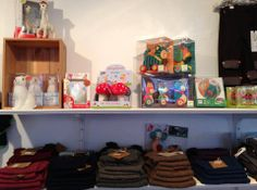 Shop interior.Toy Store·Children's Clothing, dinBabuska - Gunløgsgade, København, Denmark