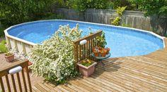 Wasserspaß im Garten: Pool oder Planschbecken? Warum in den Sommerurlaub fahren, wenn der Pool bereits im eigenen Garten steht? Der Badespaß für die ganze Familie ist garantiert. Dank einer großen Auswahl an Modellen ist der Sprung ins kühle Nass selbst bei einem schmalen Budget möglich.