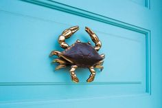 crab door knocker   GMT Home Designs