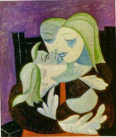 Picasso/Madre y niño ( Marie-Therese asícomo Maya ), 1938