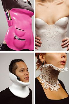 Functional 3D-Printed Back & Neck Braces by Francesca Lanzavecchia
