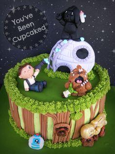Baby Star Wars cake - I would like to hug this cake!