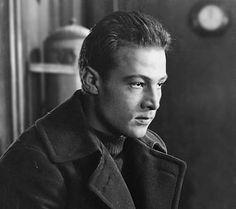 Still image from a lost film- Rudolph valentino