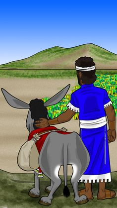 David arrives at the Valley of Elah to fight Goliath.