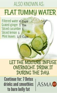 8 Detox Drinks and S