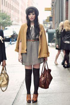 collared dress with blazer