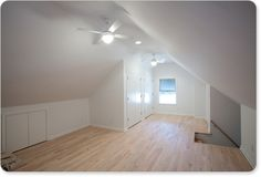 I show lots of older homes in Fairfax County and there is always attic space that can be finished. It's a good idea for creating a kids play room, office or guest bedroom.  You also are adding square footage to your home.  Always a plus.