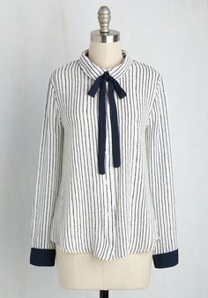 Coveted Career Top, #ModCloth