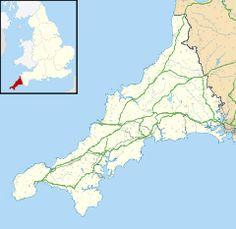 Mevagissey is located in Cornwall