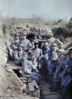 In a frontline trench in Hirtzbach on 16 June 1917...