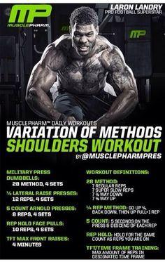 Variation of methods shoulders