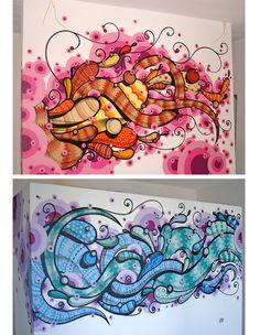 Street art in SP - Highraff