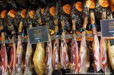 Mercado de San Miguel jamon