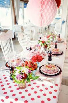 vintage polka dot party | | Kara's Party IdeasKara's Party Ideas