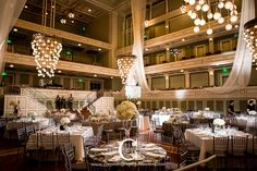 Planner: Angela Proffitt Venue: Schermerhorn Symphony Nashville Photographer: The Collection Photography