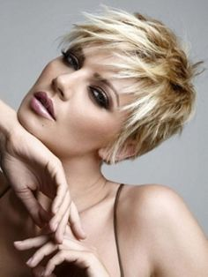 Messy Hairstyles for Short Hair 26