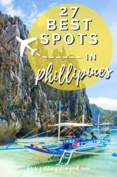 There are 7,641 islands in the #Philippines how do you decide which ones to visit? We asked 30 travel experts what their favorite place in the Phillippines was and made this list of the best tourist spots in the Philippines || Getting Stamped - Couple #Travel & #Photography #Blog